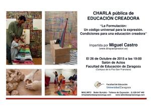 2015 10 26 Charla Universidad Educacion creadora BR